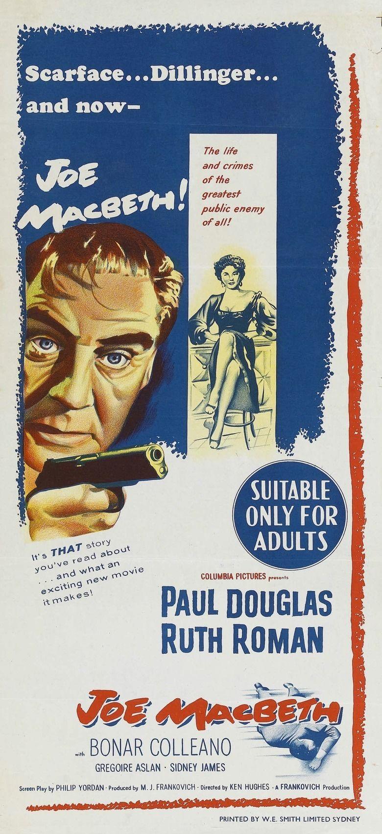 Joe MacBeth movie poster