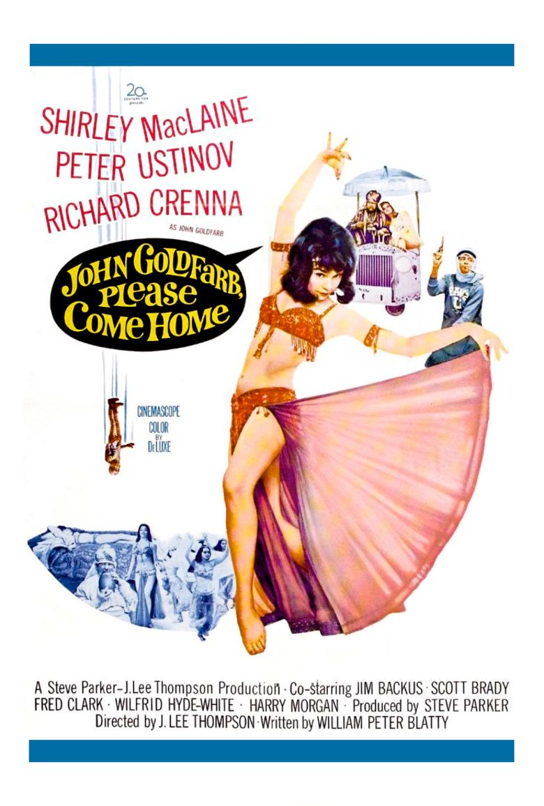 John Goldfarb, Please Come Home! movie poster