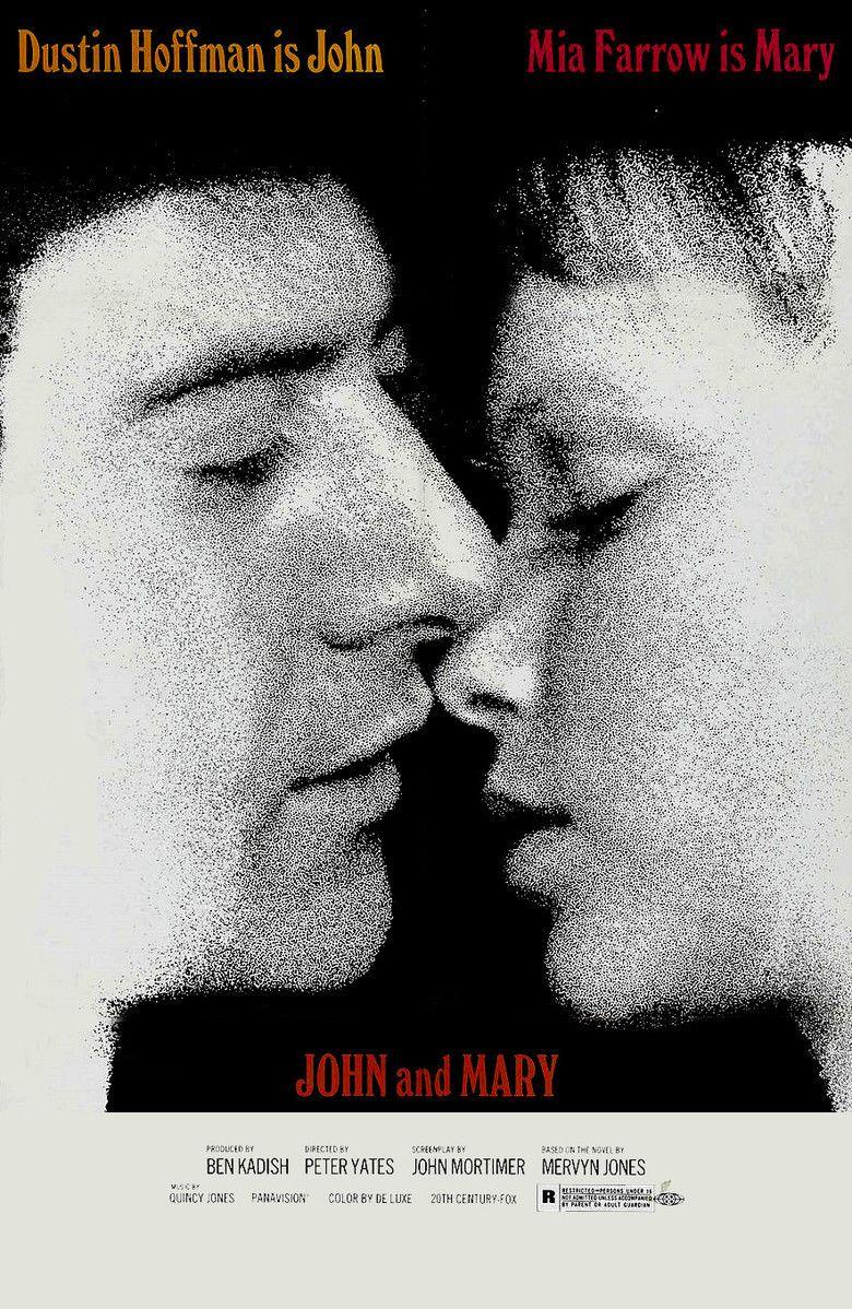 John and Mary (film) movie poster