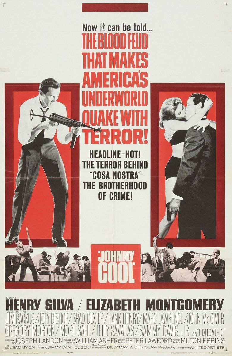 Johnny Cool movie poster
