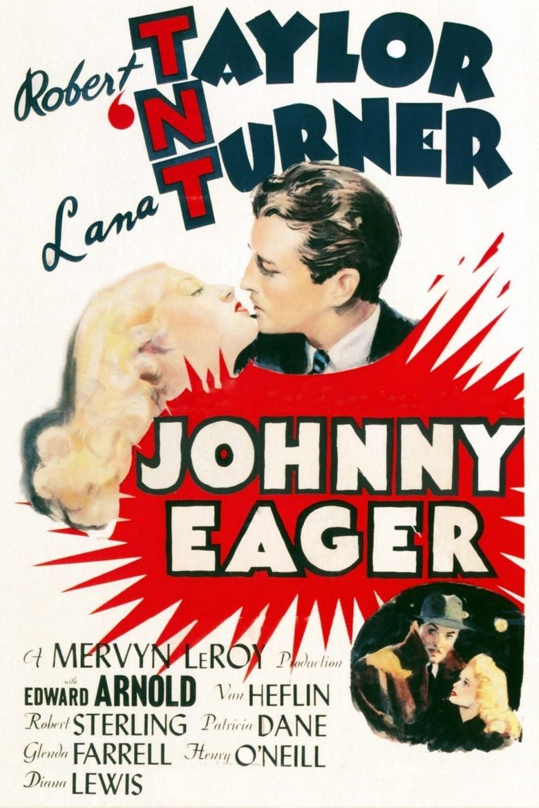 Johnny Eager movie poster
