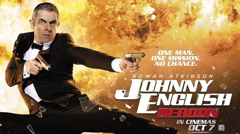 Johnny English Reborn movie scenes