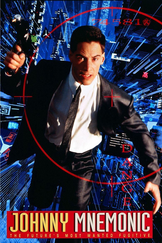 Johnny Mnemonic (film) movie poster
