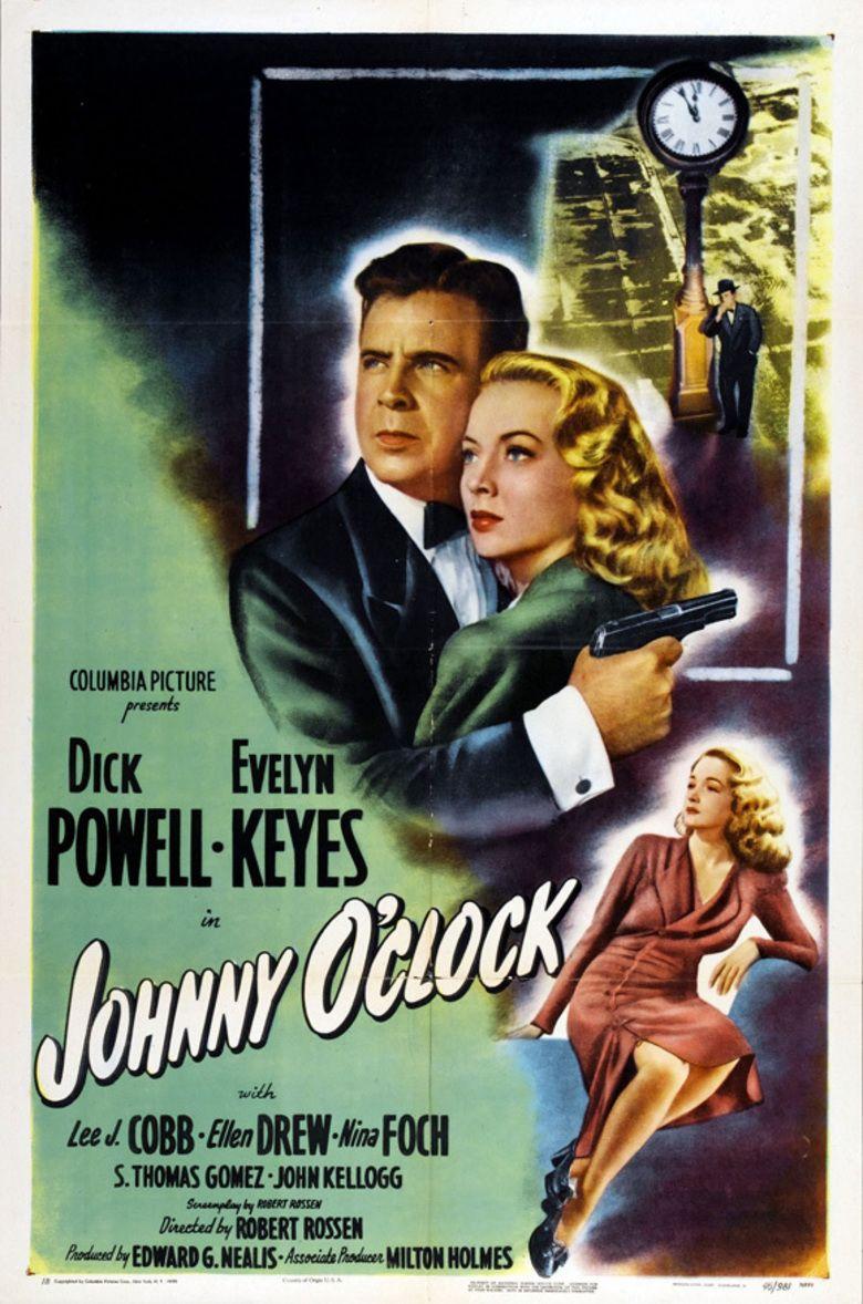 Johnny OClock movie poster