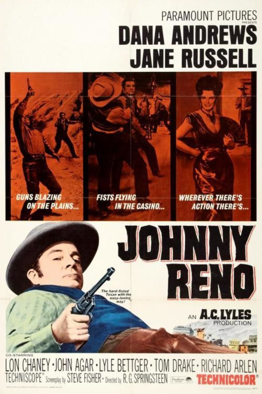 Johnny Reno movie poster