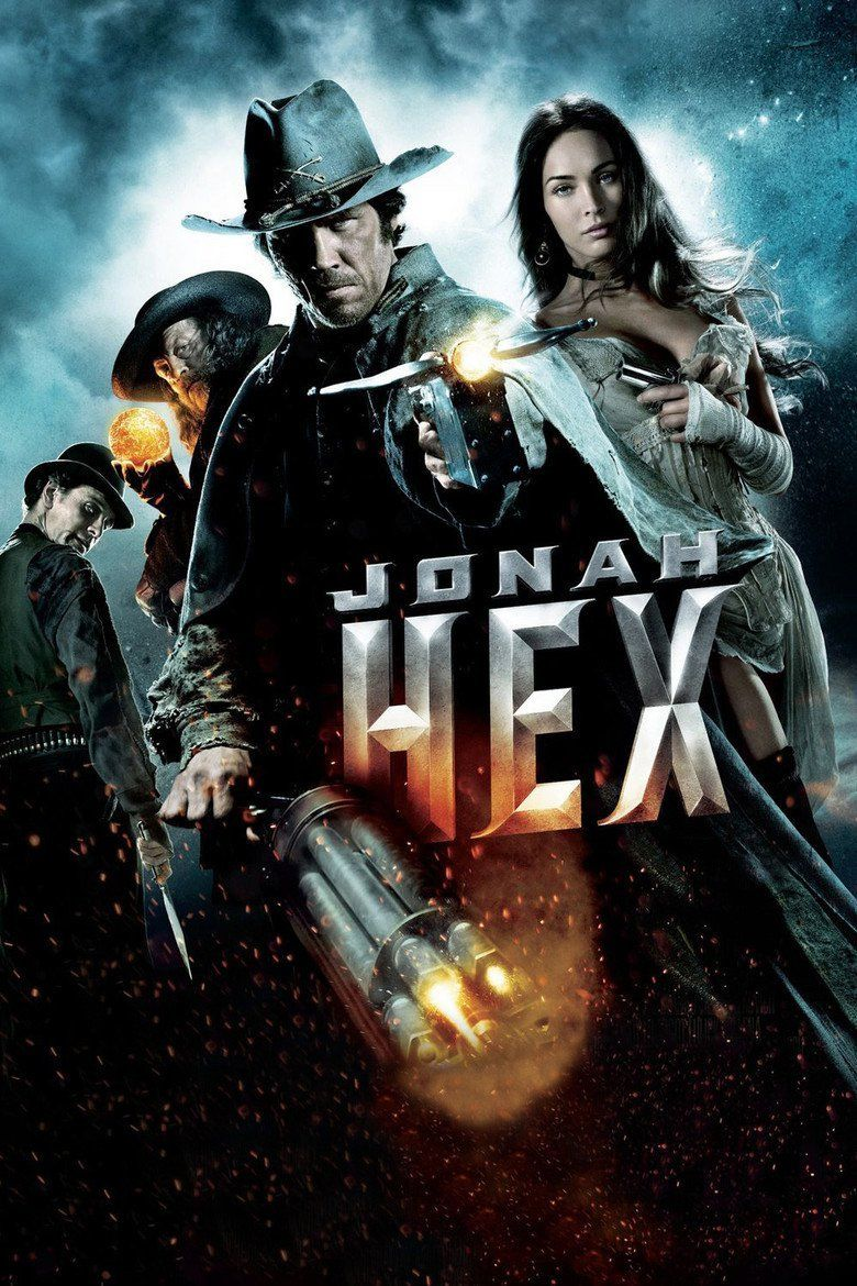 Jonah Hex (film) movie poster