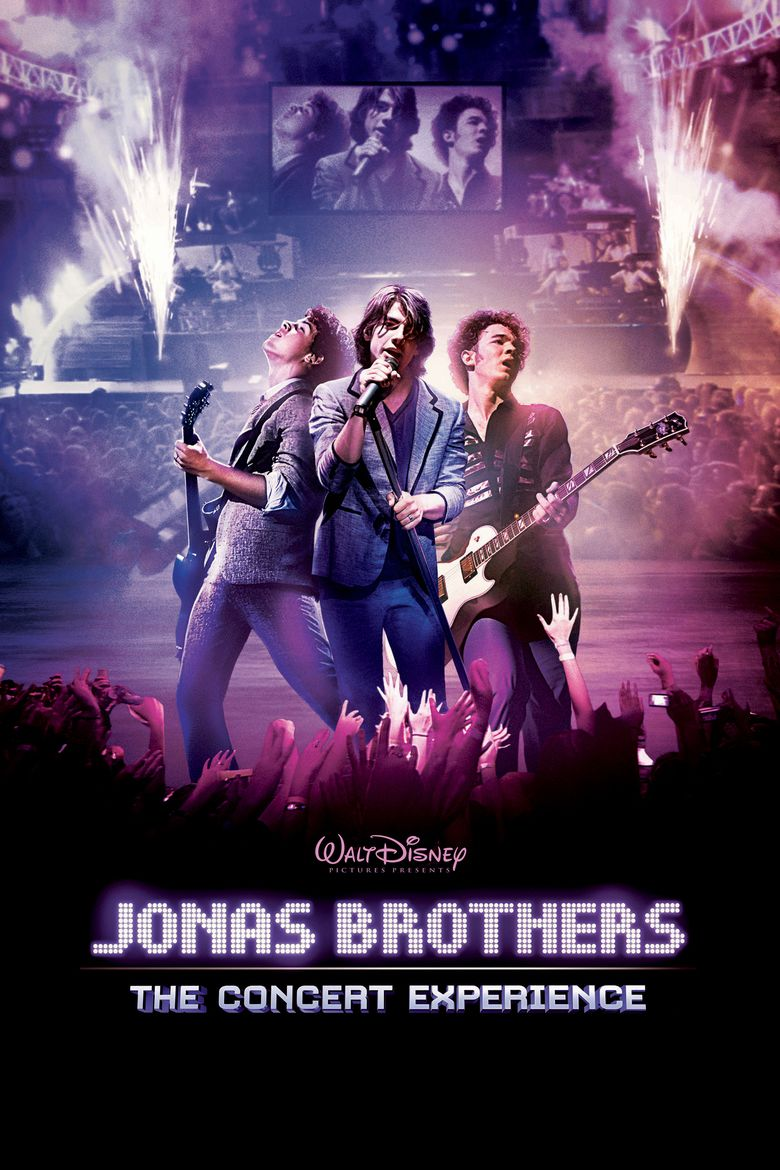 Jonas Brothers: The 3D Concert Experience movie poster