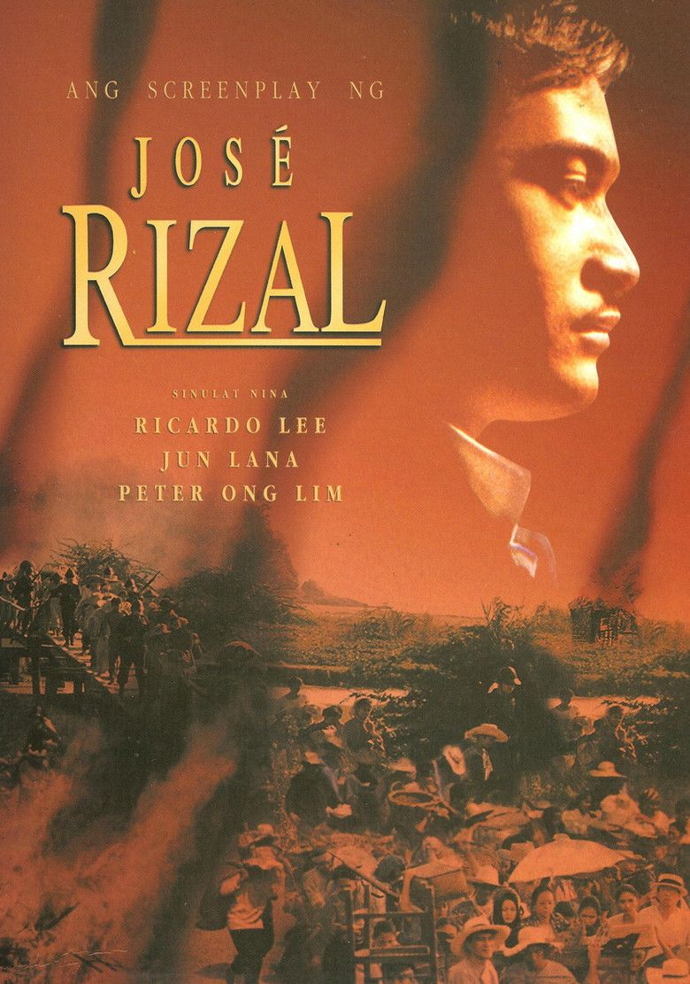 Jose Rizal (film) movie poster