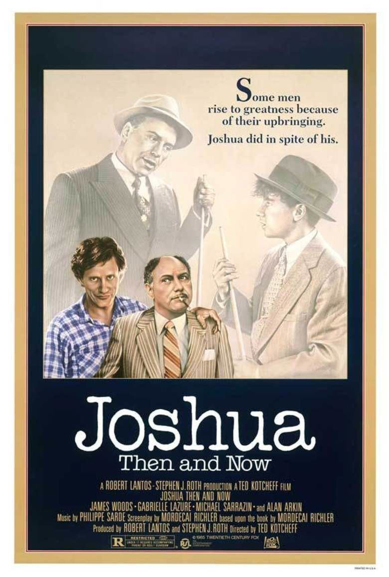 Joshua Then and Now (film) movie poster
