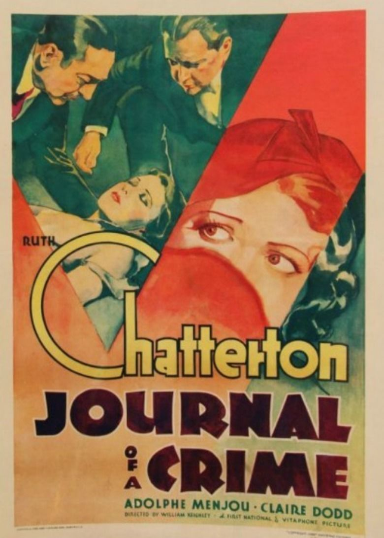 Journal of a Crime movie poster