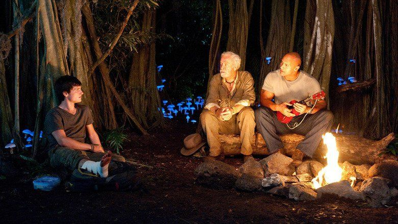 Journey 2: The Mysterious Island movie scenes