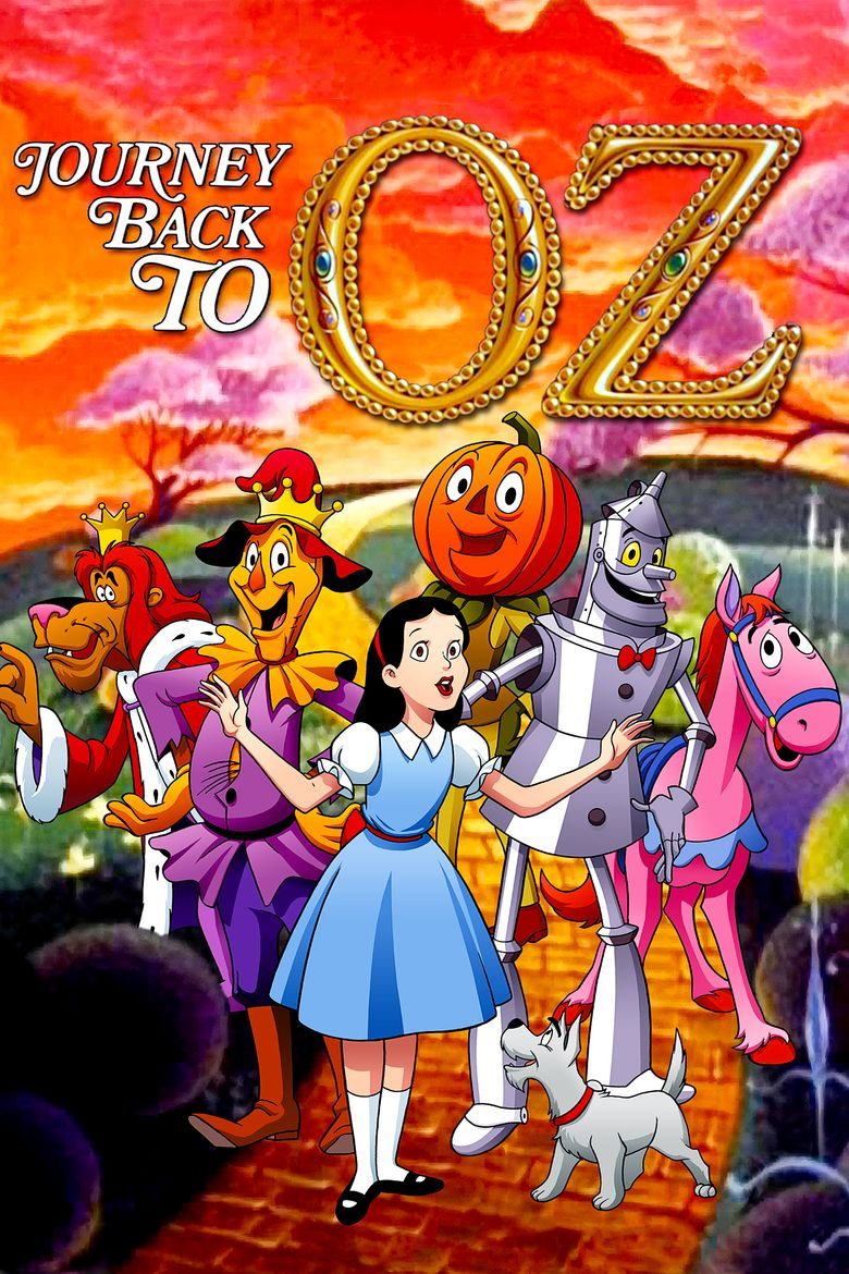 Journey Back to Oz movie poster