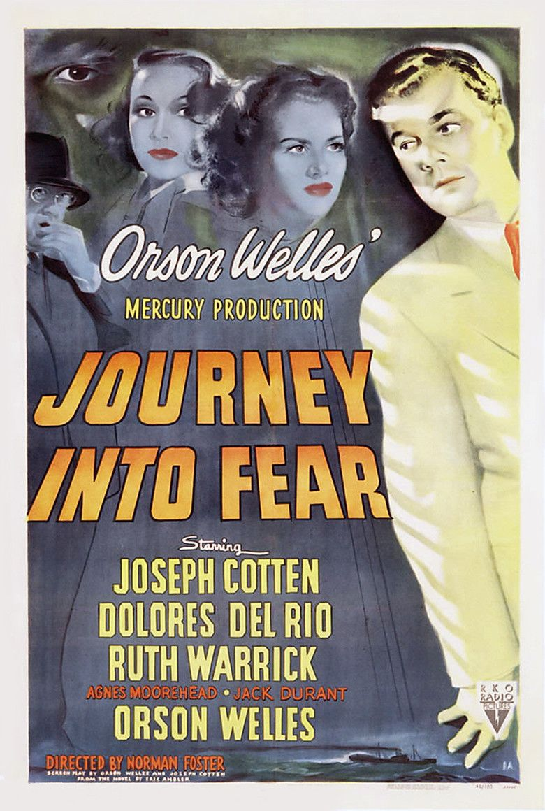 Journey into Fear (1943 film) movie poster