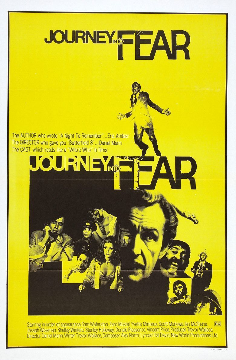 Journey into Fear (1975 film) movie poster
