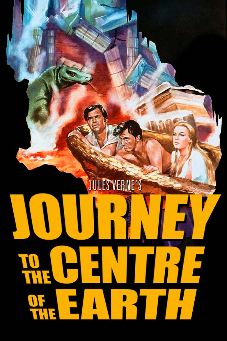 Journey to the Center of the Earth (1959 film) movie poster