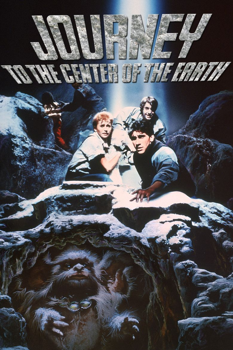 Journey to the Center of the Earth (1989 film) movie poster