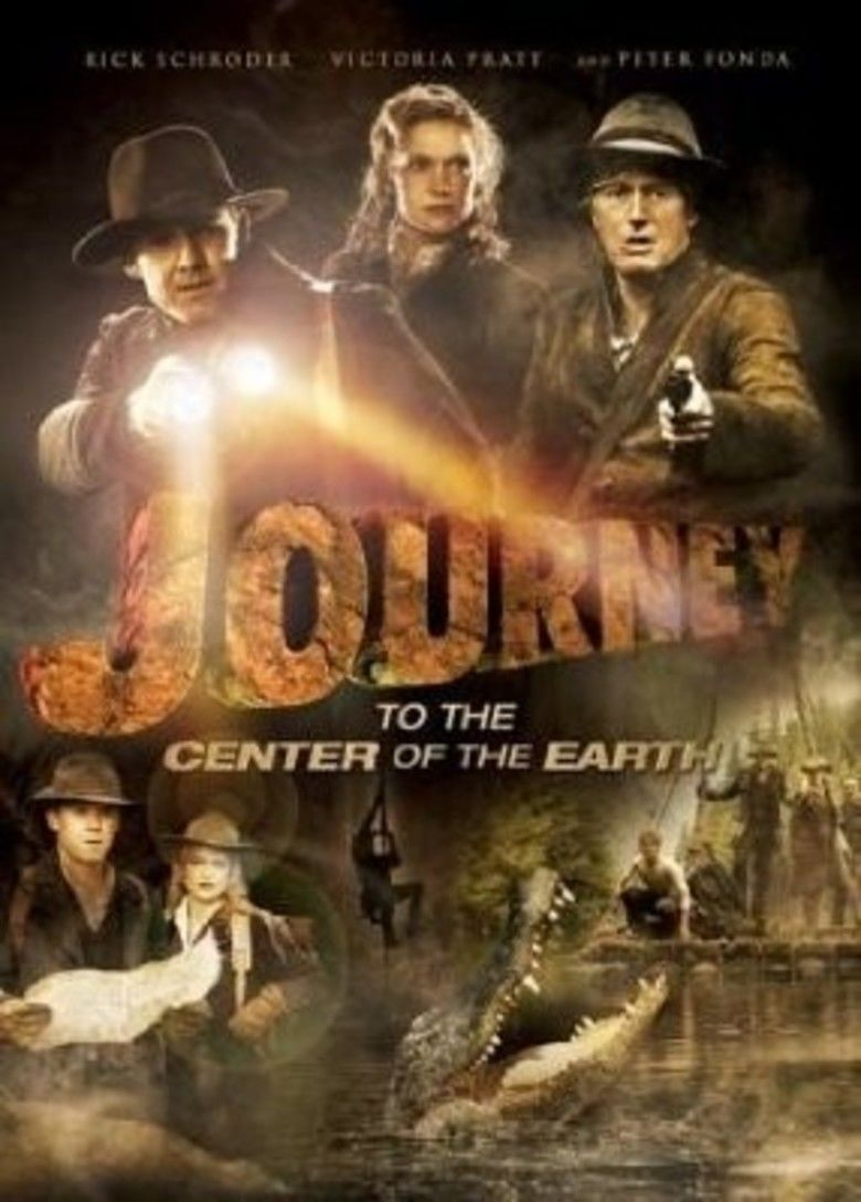 Journey to the Center of the Earth (2008 TV film) movie poster