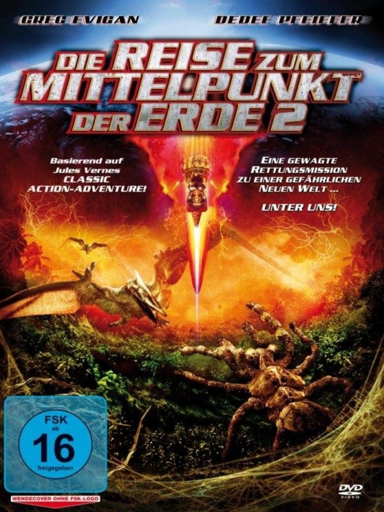 Journey to the Center of the Earth (2008 direct to video film) movie poster