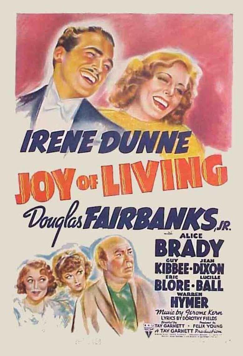 Joy of Living movie poster