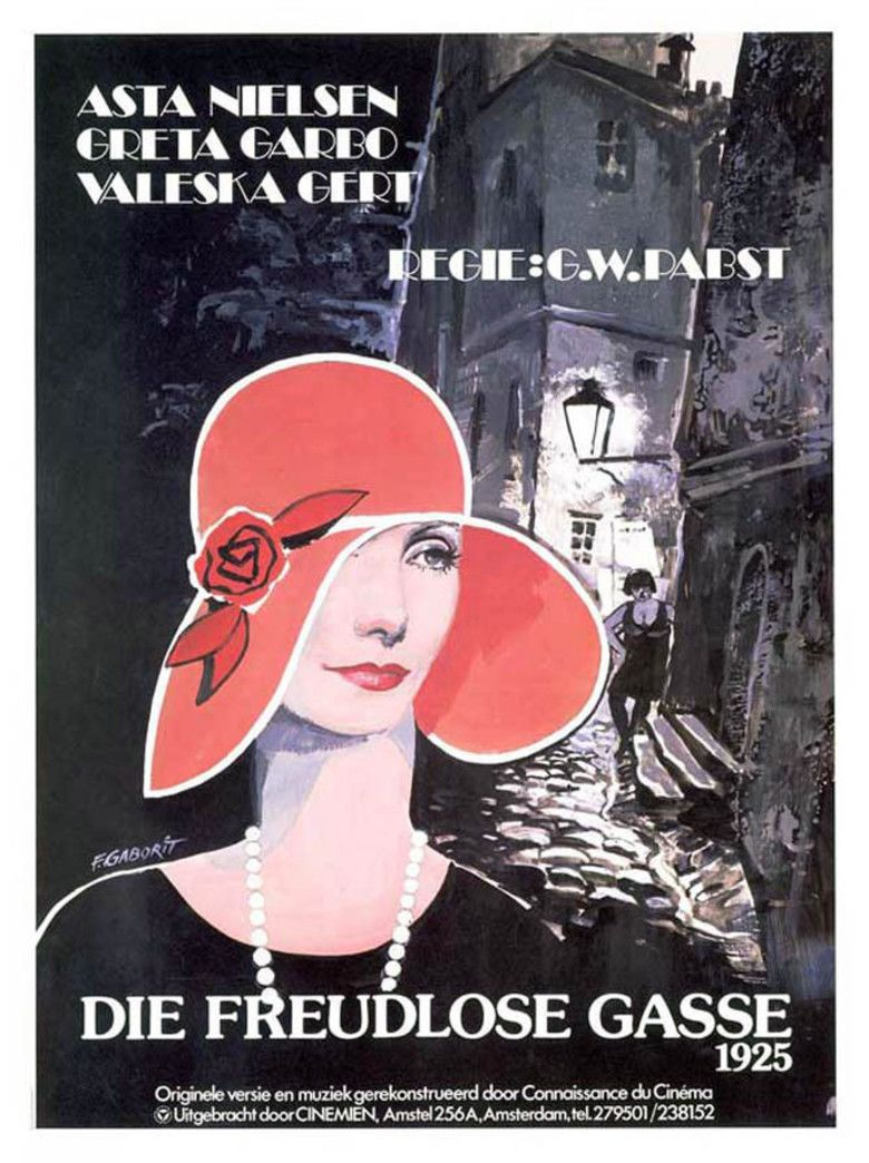 Joyless Street movie poster