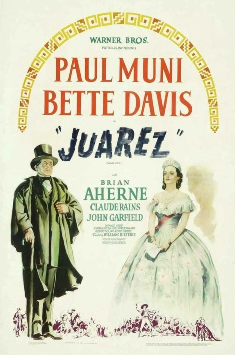 Juarez (film) movie poster
