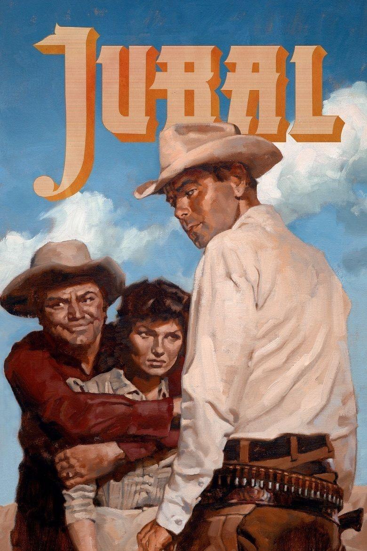 Jubal (film) movie poster