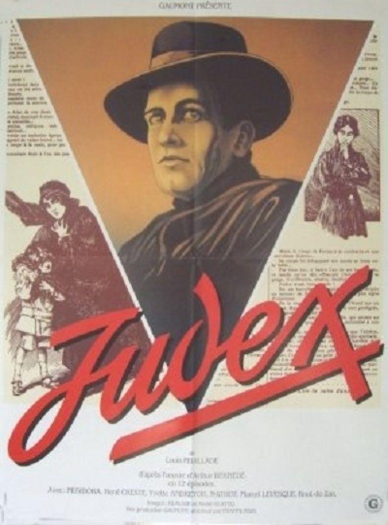 Judex (1916 film) movie poster