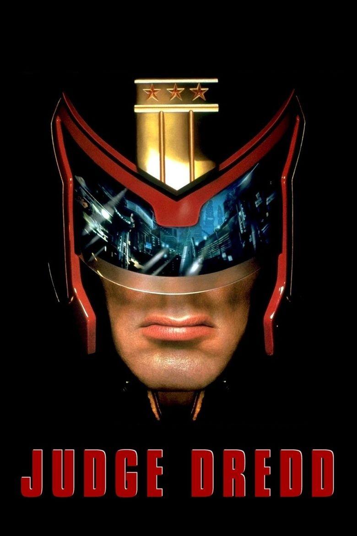 Judge Dredd (film) movie poster
