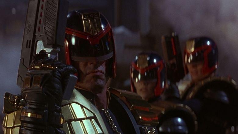 Judge Dredd (film) movie scenes