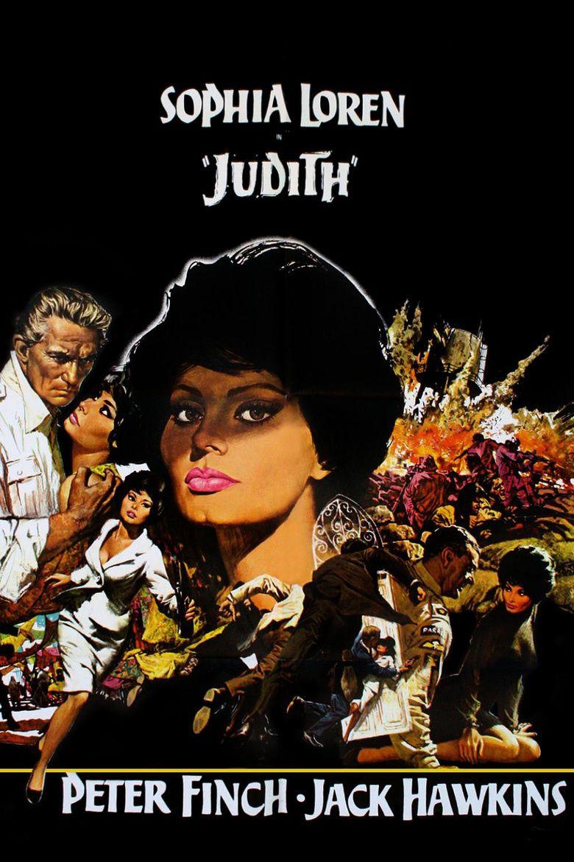 Judith (1966 film) movie poster