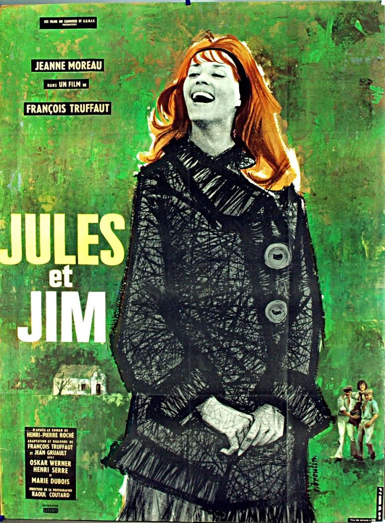 Jules and Jim movie poster