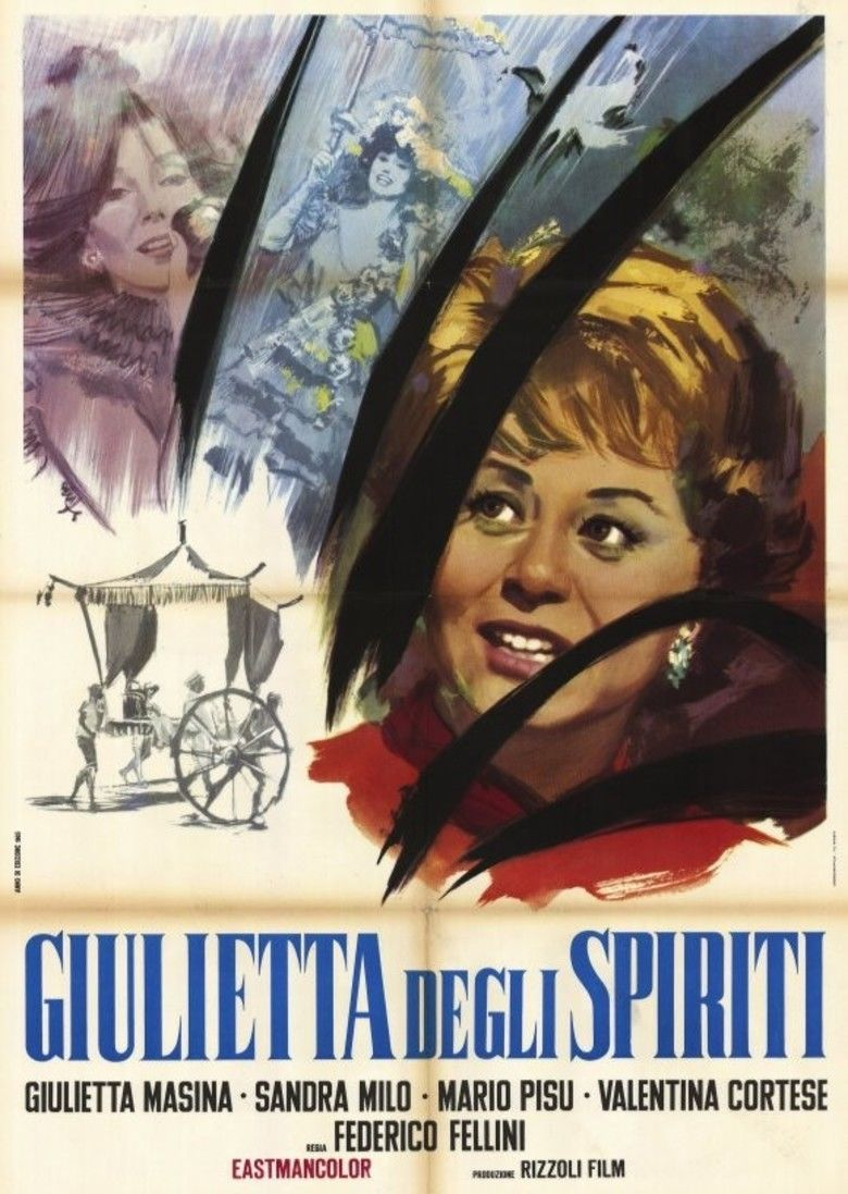 Juliet of the Spirits movie poster