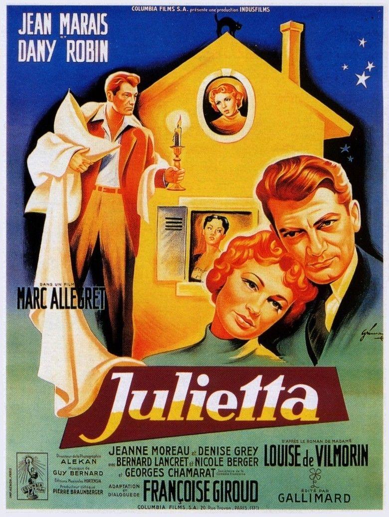 Julietta (1953 film) movie poster
