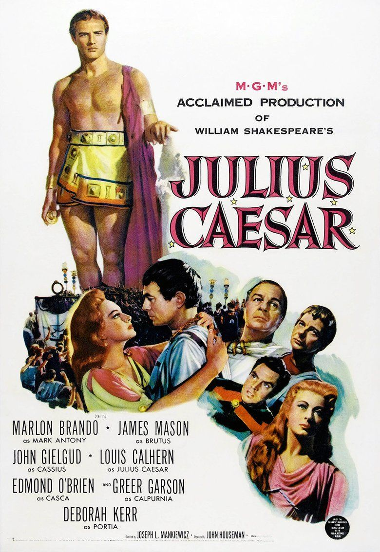 Julius Caesar (1953 film) movie poster