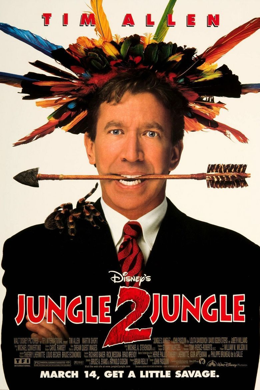 Jungle 2 Jungle movie poster