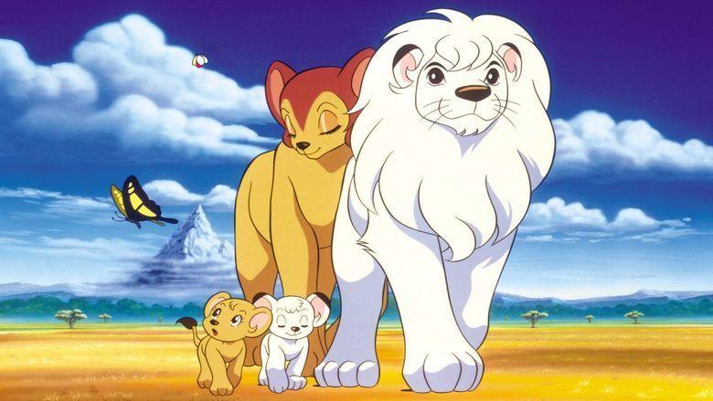 Jungle Emperor Leo movie scenes