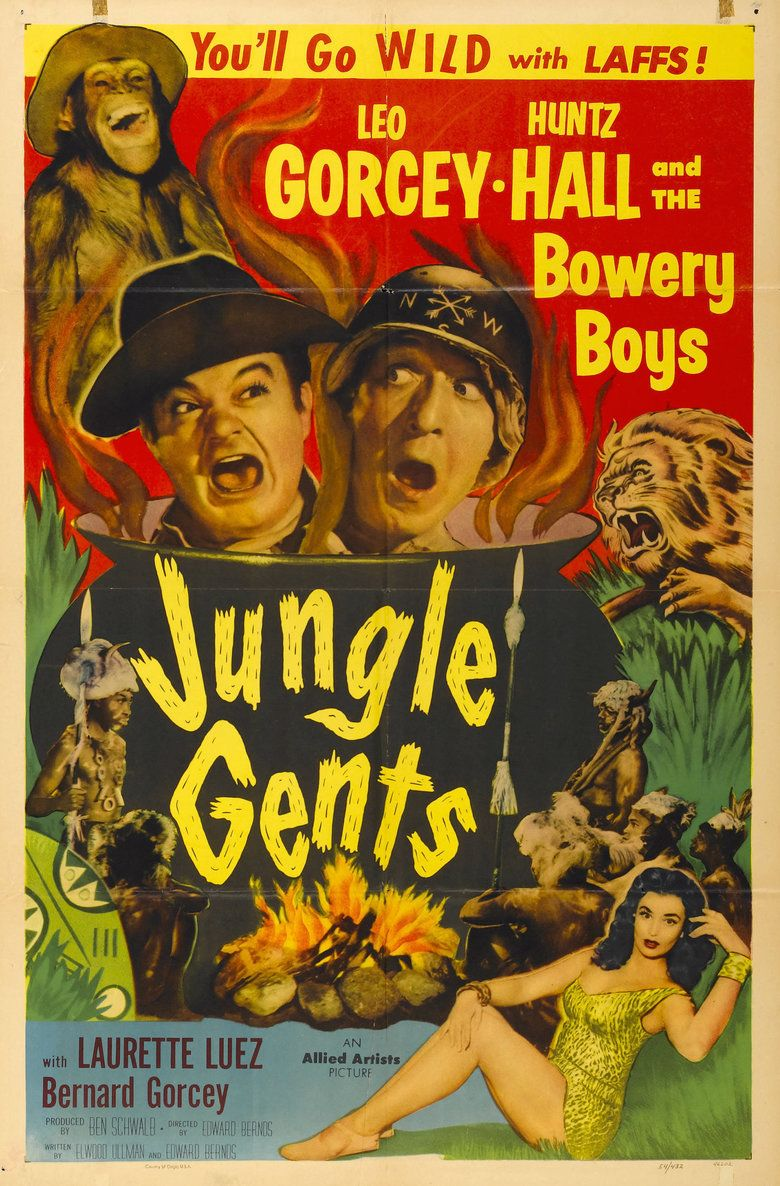 Jungle Gents movie poster