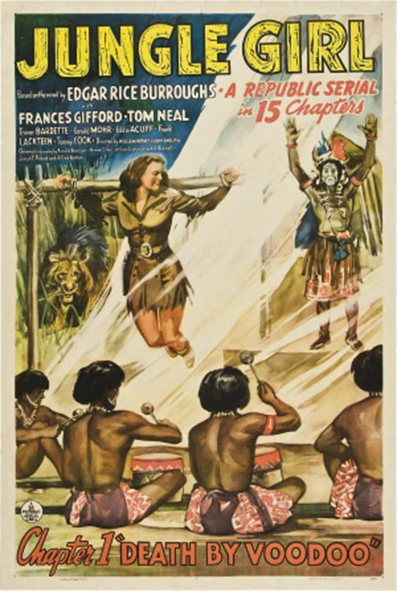Jungle Girl (serial) movie poster