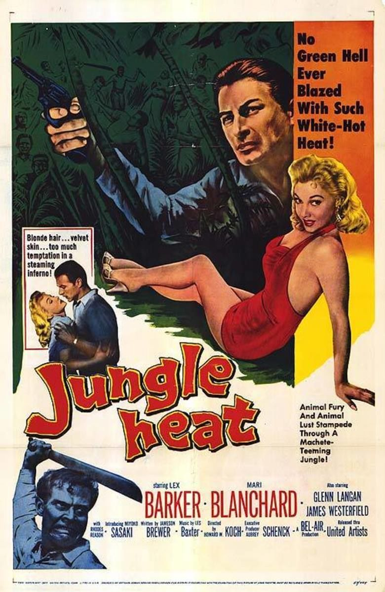 Jungle Heat movie poster