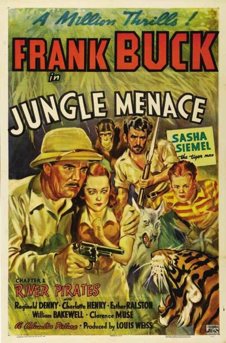 Jungle Menace movie poster