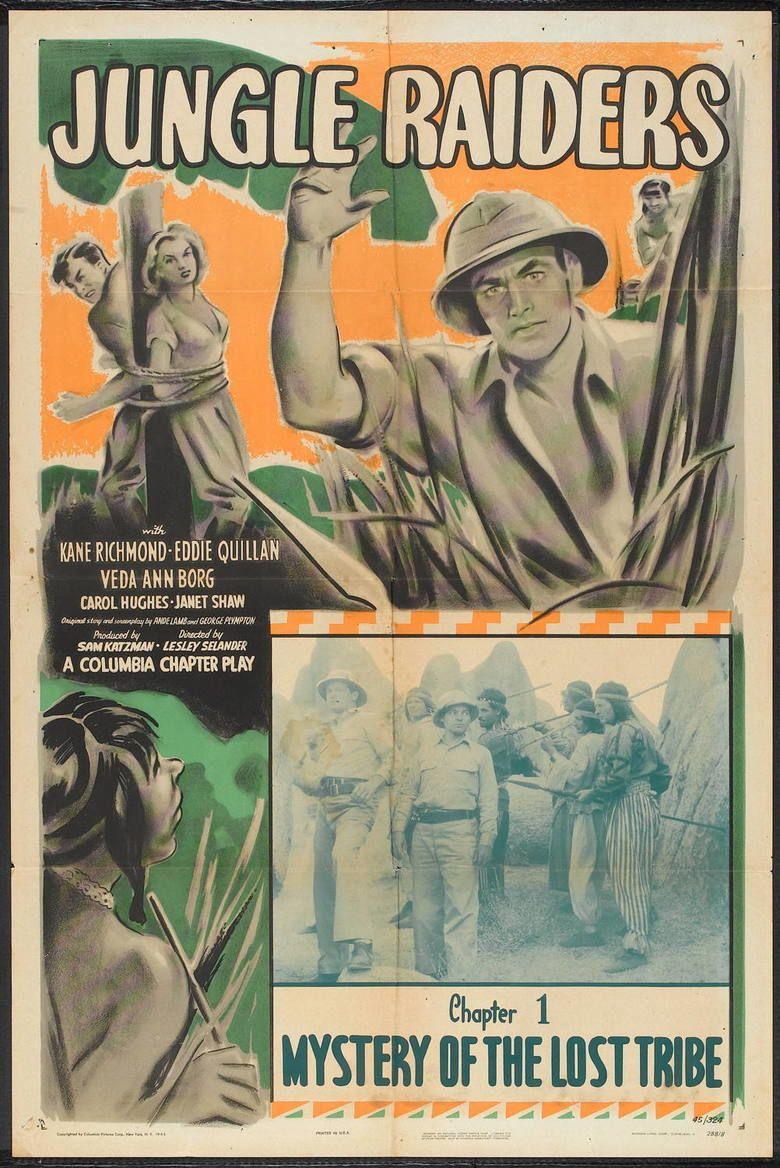 Jungle Raiders (serial) movie poster
