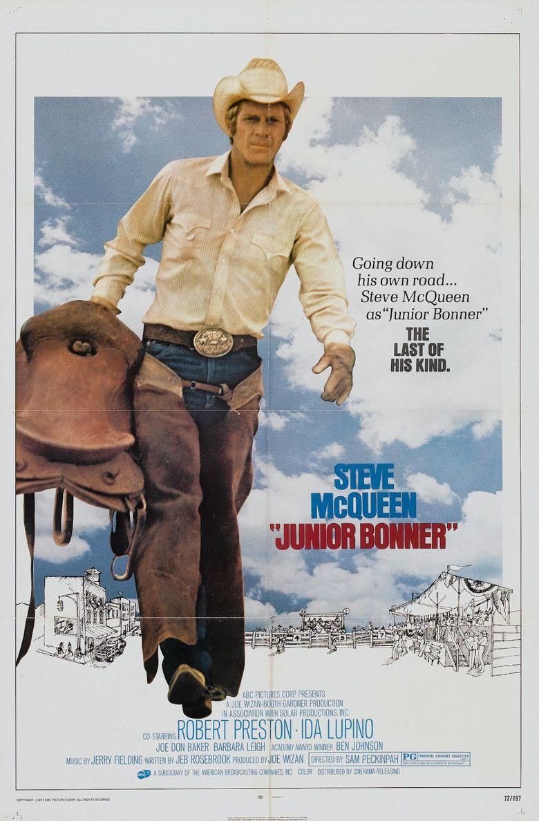 Junior Bonner movie poster