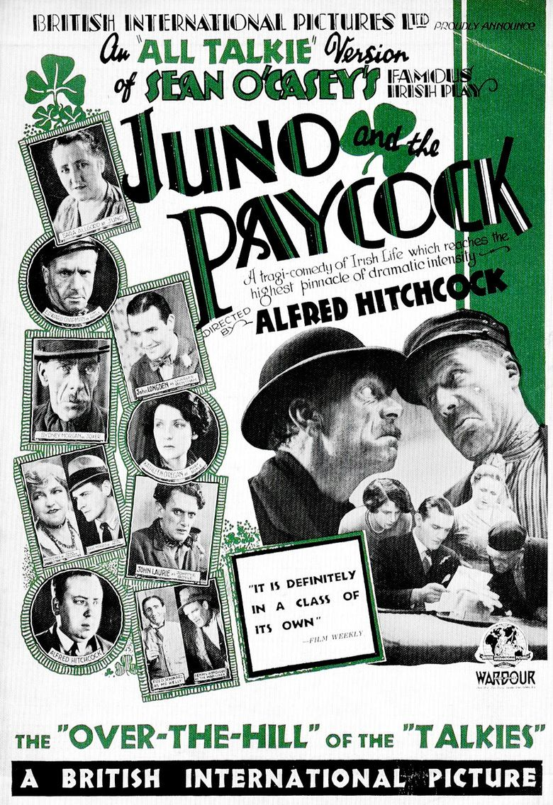 Juno and the Paycock (film) movie poster