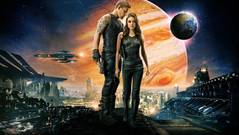 Jupiter Ascending movie scenes