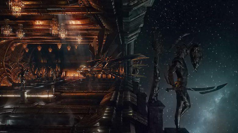 Jupiter Ascending movie scenes