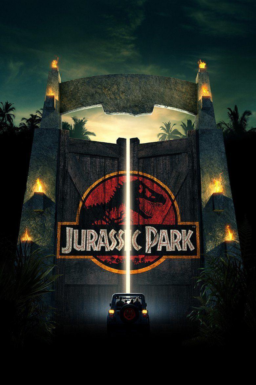 Jurassic Park (film) movie poster