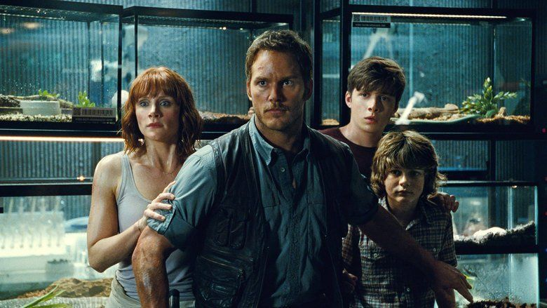 Jurassic World movie scenes