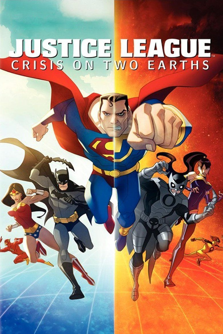 Justice League: Crisis on Two Earths movie poster