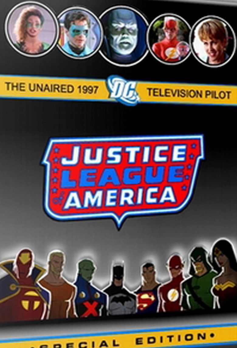 Justice League of America (1997 film) movie poster