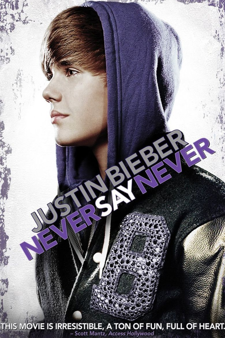 Justin Bieber: Never Say Never movie poster